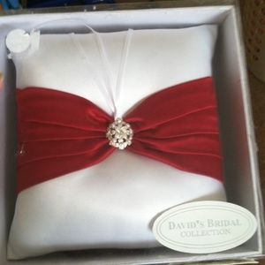 (NWT) Ring Barrier Pillow